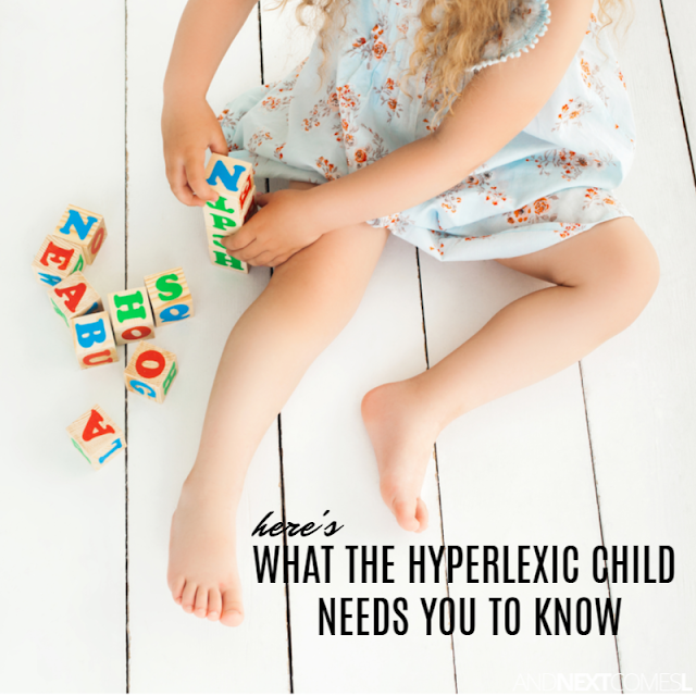 The needs of the hyperlexic child