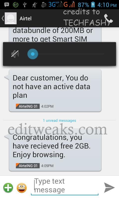 Airtel new 2Gb