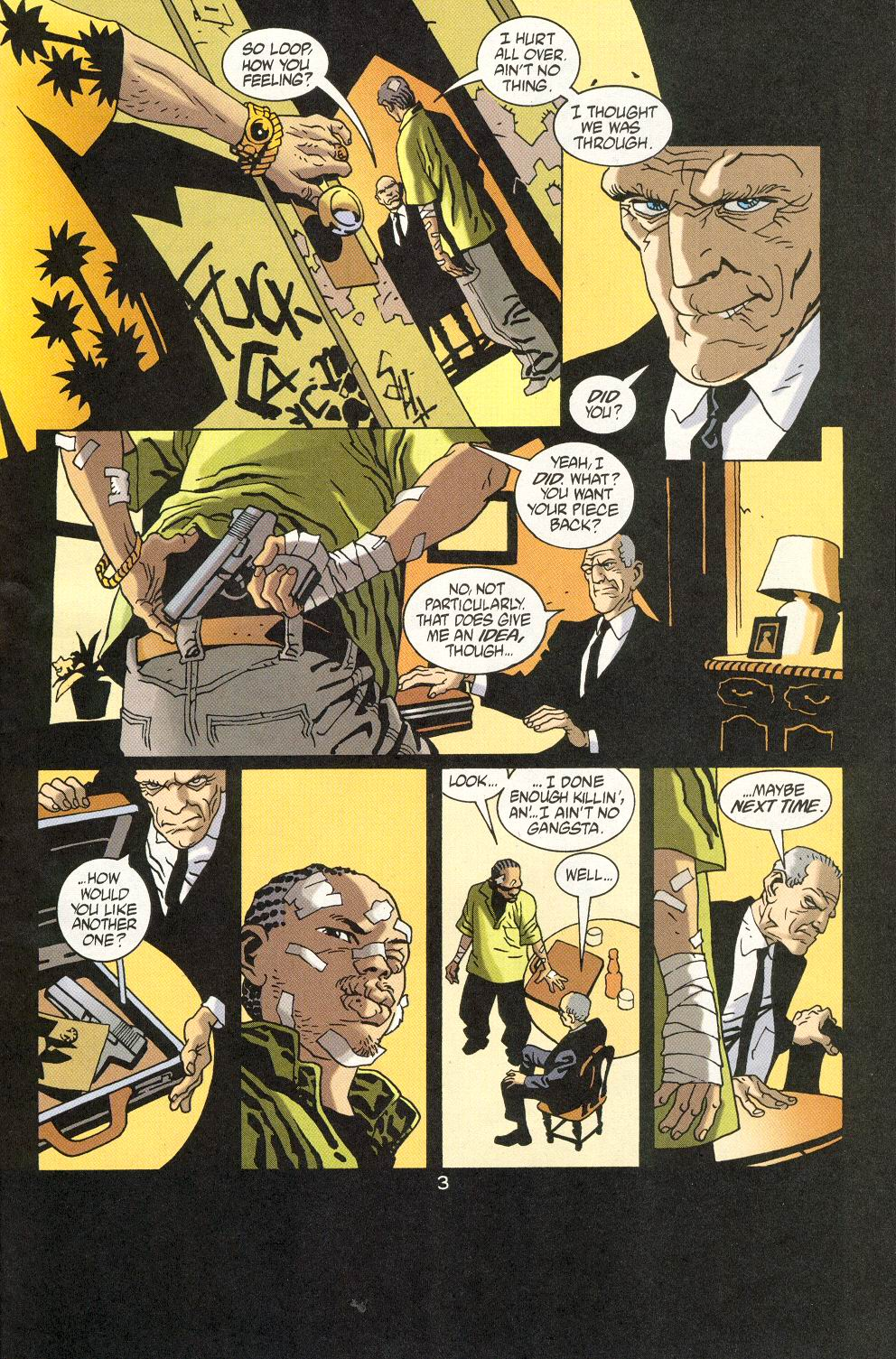 Read online 100 Bullets comic -  Issue #19 - 5