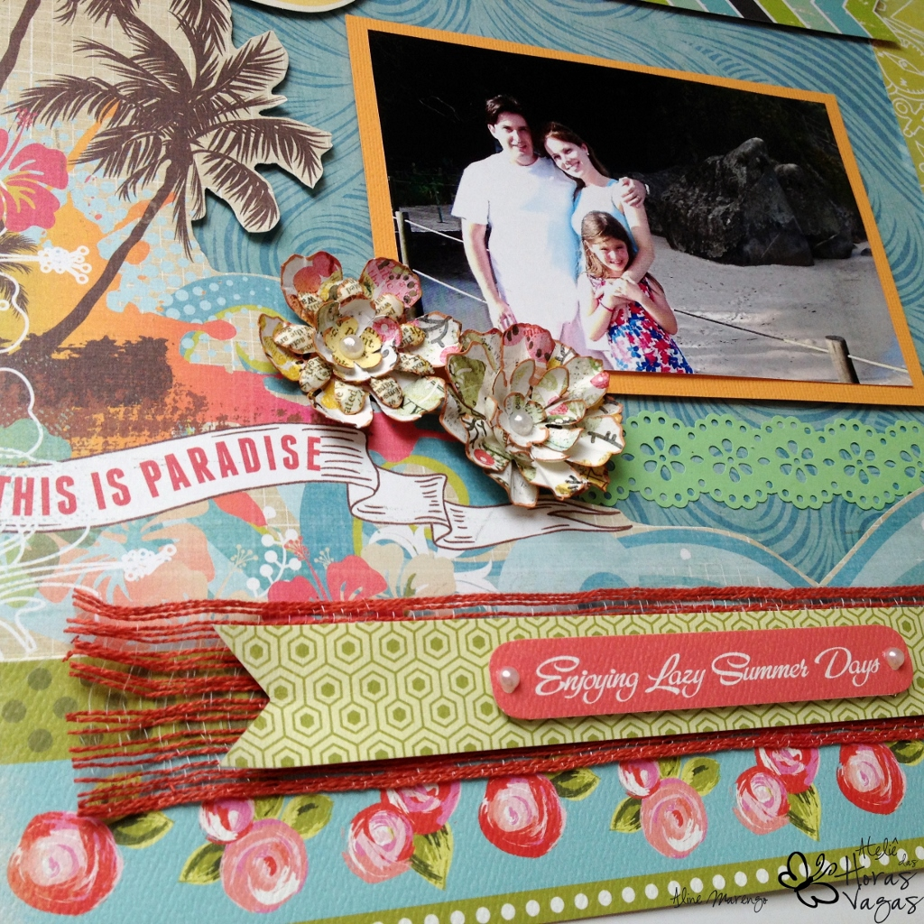 scrap scrapbook scrapbookin summer lovin carta bella paradise beach echo park
