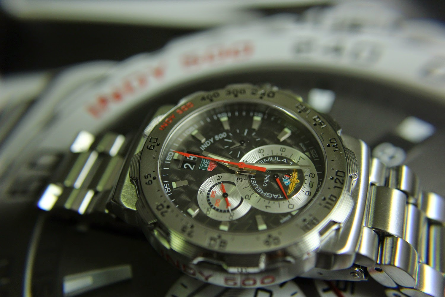 SOLD] TAG HEUER FORMULA 1 INDY 500 GRANDE DATE CHRONOGRAPH