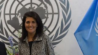 Η πρέσβειρα των ΗΠΑ στoν ΟΗΕ