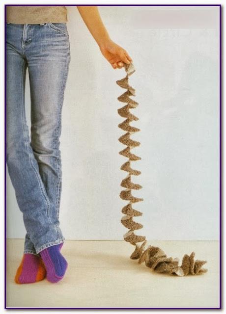 Como hacer Espirales Tejidas. Tutorial