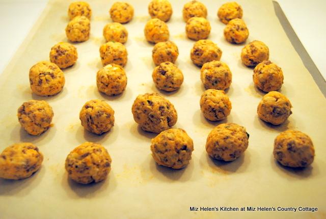 Sweet Potato Sausage Balls at Miz Helen's Country Cottage