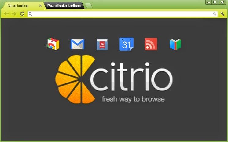 تحميل متصفح سيتريو Citrio اقوى واسرع متصفح 2018 للكمبيوتر