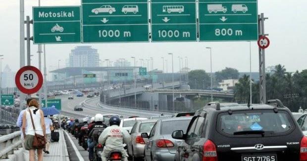 Singapura Akan Sepadankan Caj Jalan Raya Dikenakan Malaysia