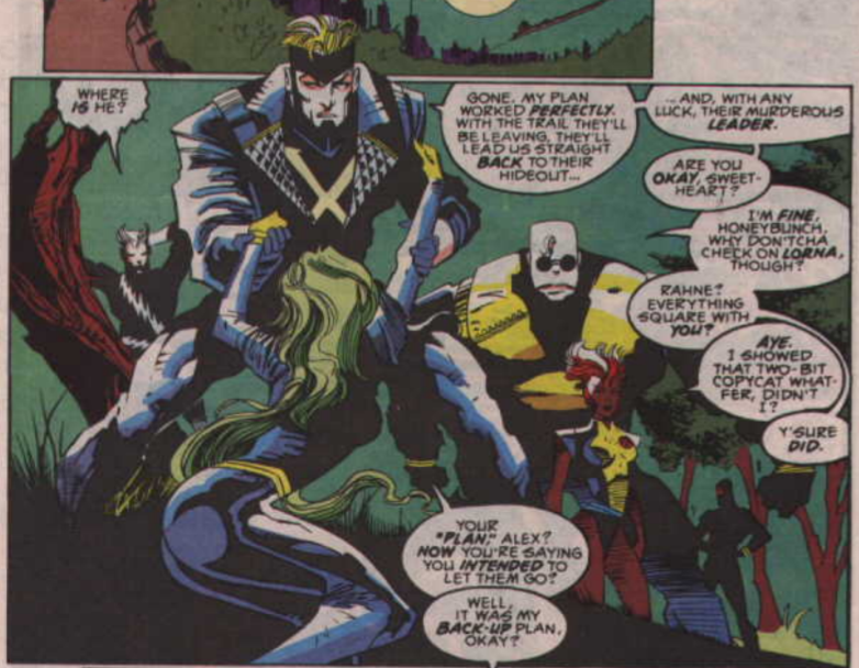 Gentlemen of leisure x amining x factor 84 when the x men arrive and beast declares theyre going to help get cable strong guy makes the requisite joke about cable tv publicscrutiny Choice Image