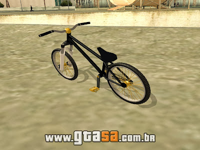 Dirt Bike - Nova BMX para GTA San Andreas