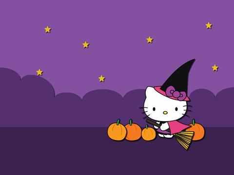 Cute Kitty Cat Wallpapers Blueberrythemes Hello Kitty Wallpapers Halloween Edition