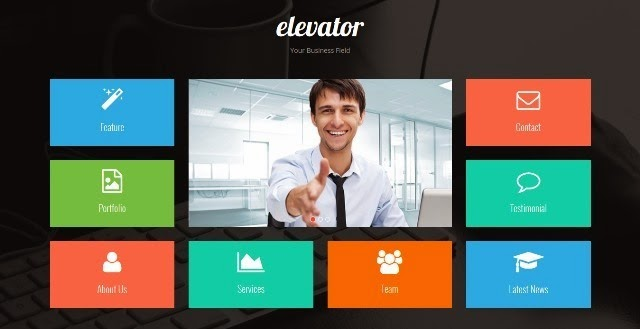 Elevator Responsive Bootstrap Template