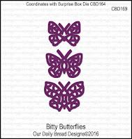 Divinity Designs Custom Bitty Bufferflies Dies