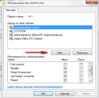 Sharing Data Pada Windows 7