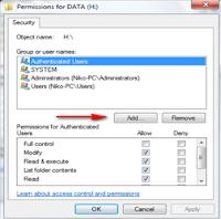 Sharing Data Pada Windows 7