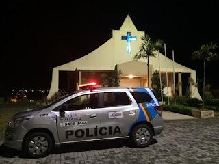 Noiva e convidados são assaltados na frente da igreja antes do casamento no PE