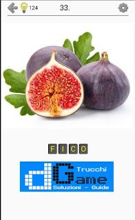 Soluzioni Frutti, verdure e noce livello 33