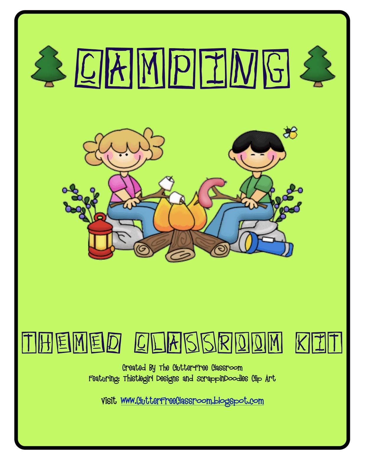 Camping Themed Classroom Pictures And Ideas Edition