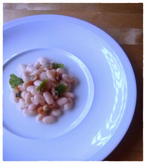 Curso de Fotografía gastronómica - ensalada alubias