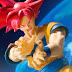 Divulgadas todas imagens oficiais do Goku versão Super Sayajin Deus, de Dragon Ball, da S.H.Figuarts!!!