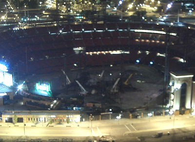 webcam al  Busch Stadium de St. Louis en Estados Unidos U2 360 Tour