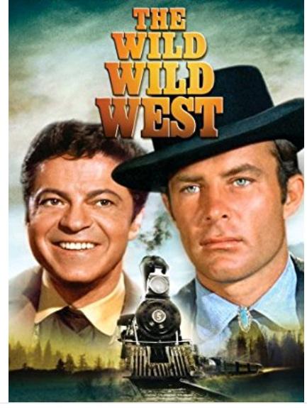 Falando em Série: JAMES WEST (The Wild Wild West) 1965