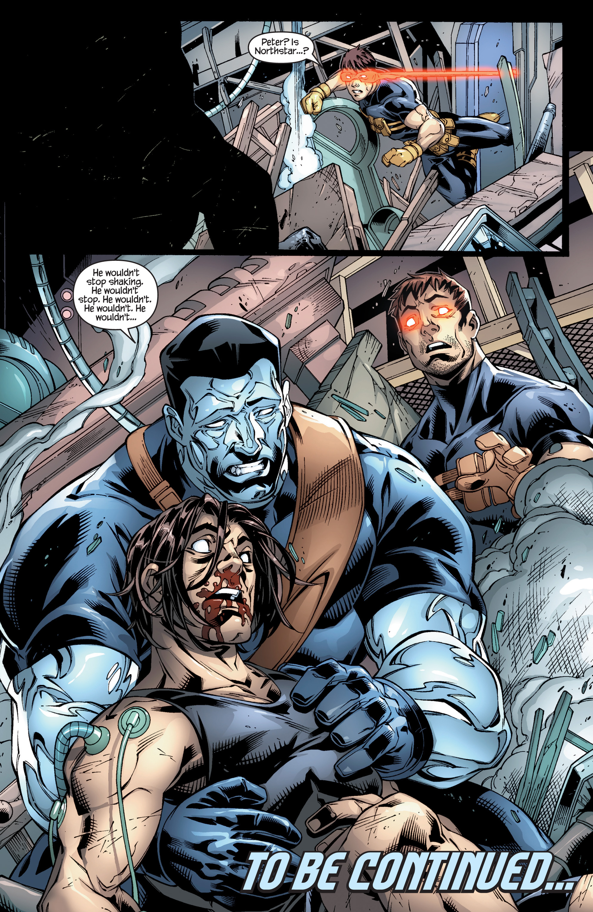 Read online Ultimate X-Men comic -  Issue #95 - 24