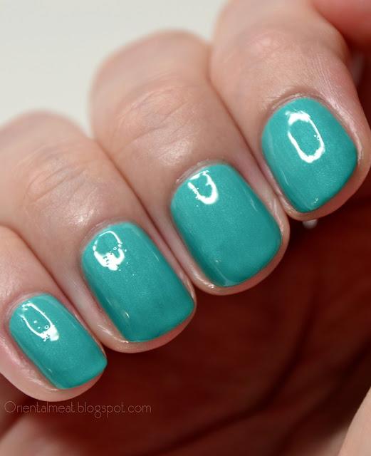 China Glaze-Turned Up Turquoise