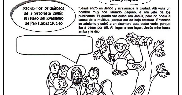 La Catequesis (El blog de Sandra): Recursos Catequesis Jesús y Zaqueo