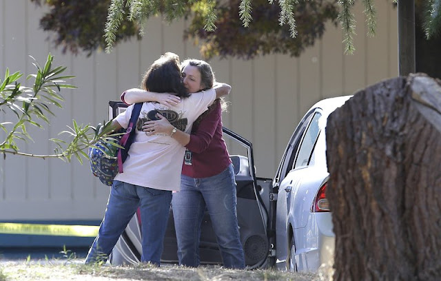 Gunman targets people at California