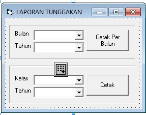 Source Coding Program Pembayaran SPP Paling Lengkap v.2 di Visual Basic 6.0