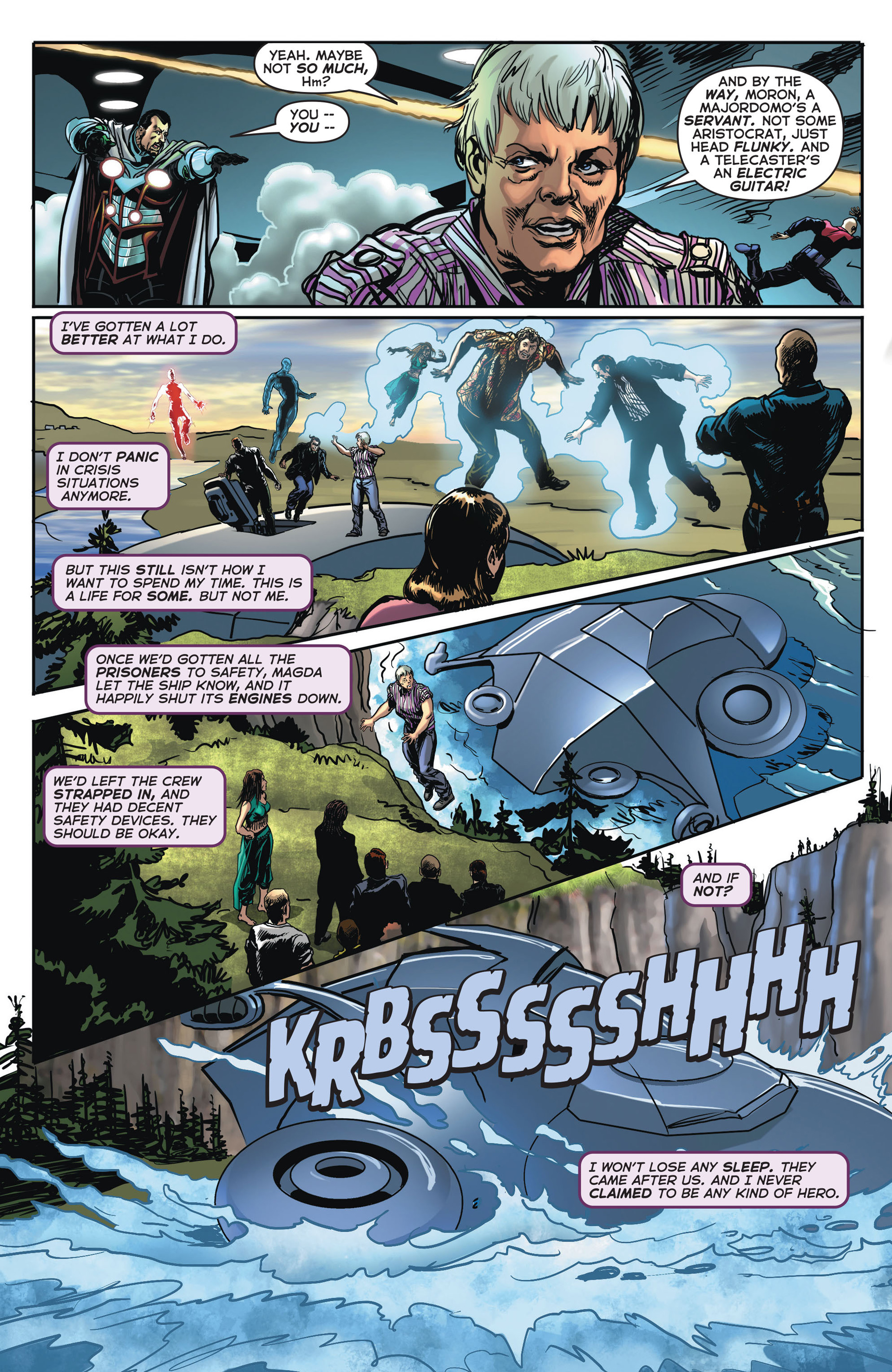 Read online Astro City comic -  Issue #4 - 21