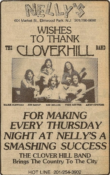 Nelly's ad thanking the Cloverhill Band