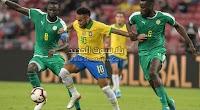بهدف لمثله السنغال تفرض التعادل الاجابي على البرازيل في المباراة الودية