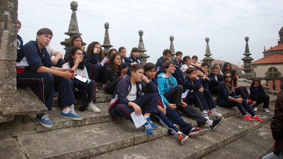 Tejados de la Catedral de Santiago de Compostela