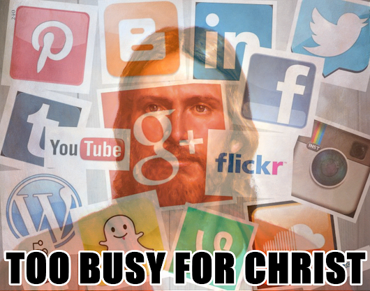 Too Busy for Christ