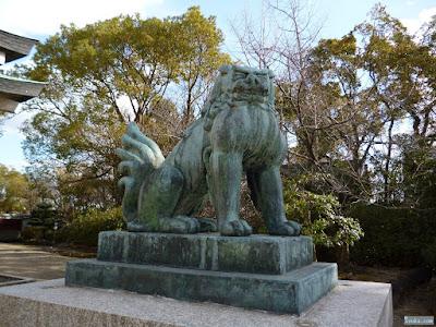 豊國神社狛犬