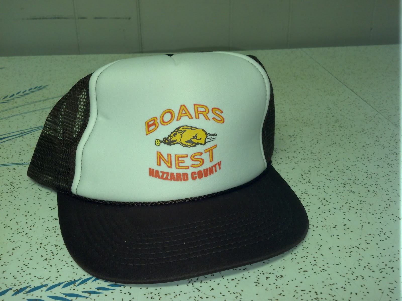 These two were also given away to promote the movie. They are not the best  quality-- kind of like the cheapest trucker hat you can get. 122be38ced3