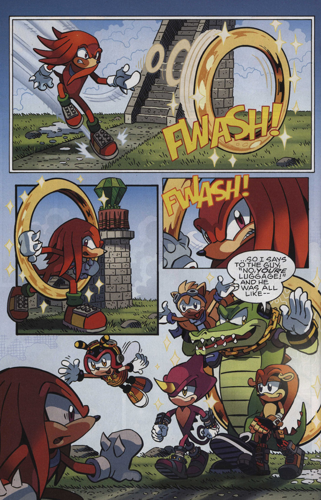 Read online Sonic The Hedgehog comic -  Issue #246 - 24