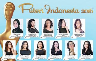 Finalis Puteri Indonesia 2016