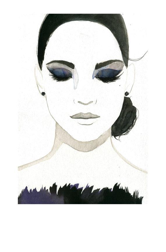 módní illustrátorka