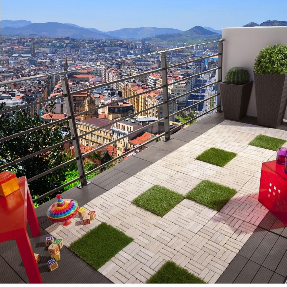 tout l 39 univers de la salle de bains r uni pour votre seul plaisir am nager son balcon ou sa. Black Bedroom Furniture Sets. Home Design Ideas