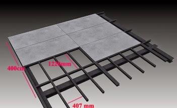 Tấm bê tông nhẹ (tấm xi măng gỗ)