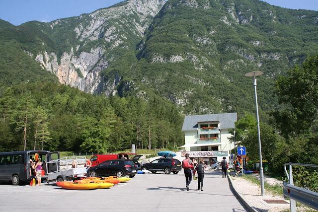 Foto de Rafting con Bovec Sport Center. Ruta en autocaravana por Eslovenia |caravaneros.com