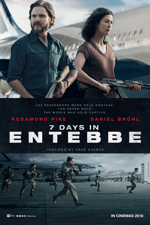Film 7 Days in Entebbe (2018) Bioskop
