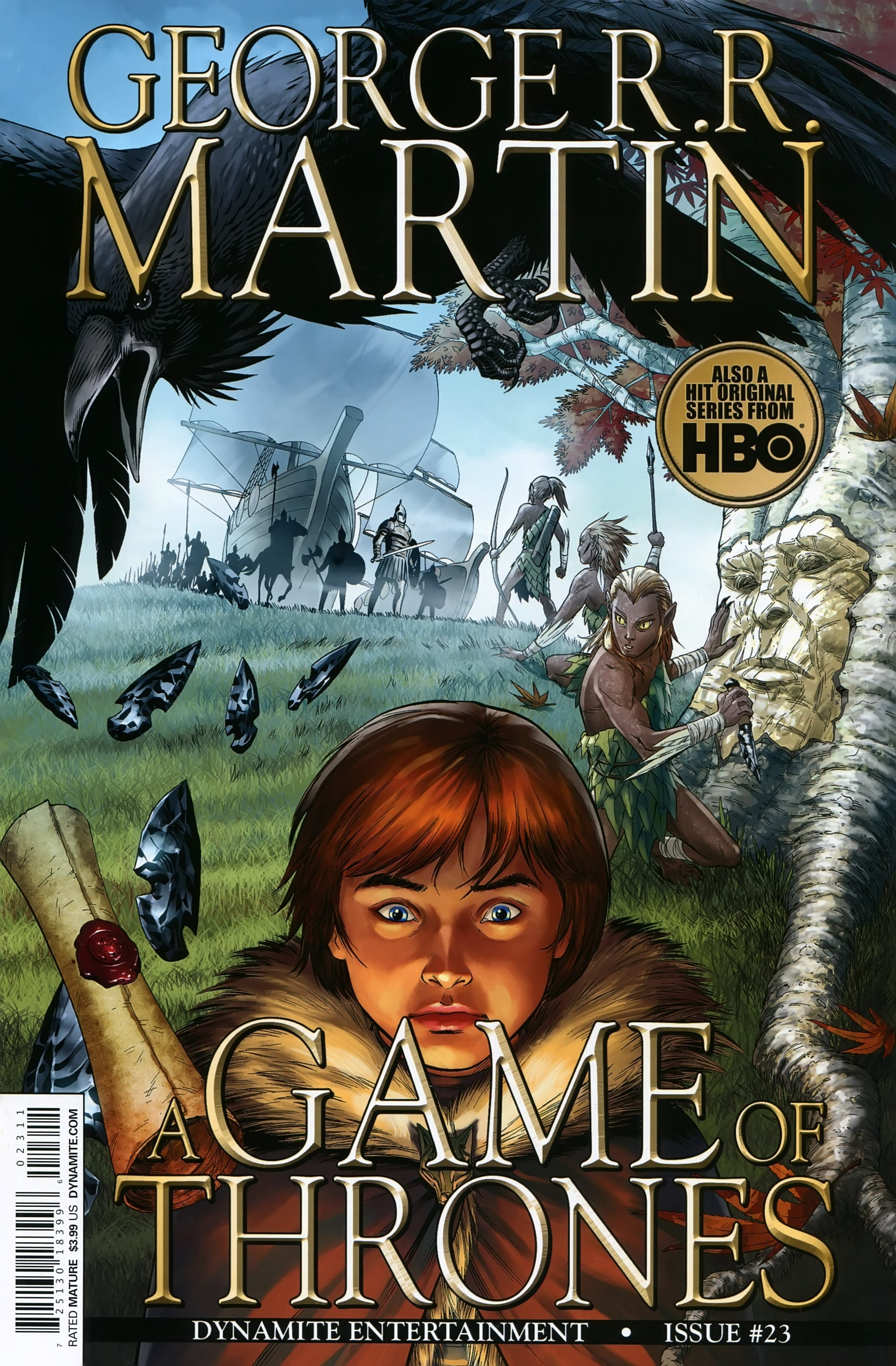 Read online A Game Of Thrones comic -  Issue #23 - 1
