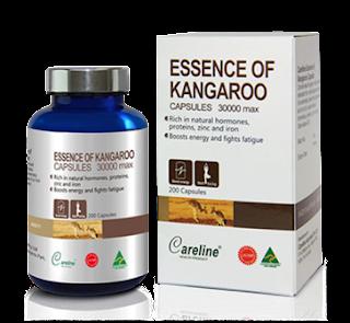 Essence Of Kangaroo CareLine - Cải thiện sức khỏe tình dục ở nam giới
