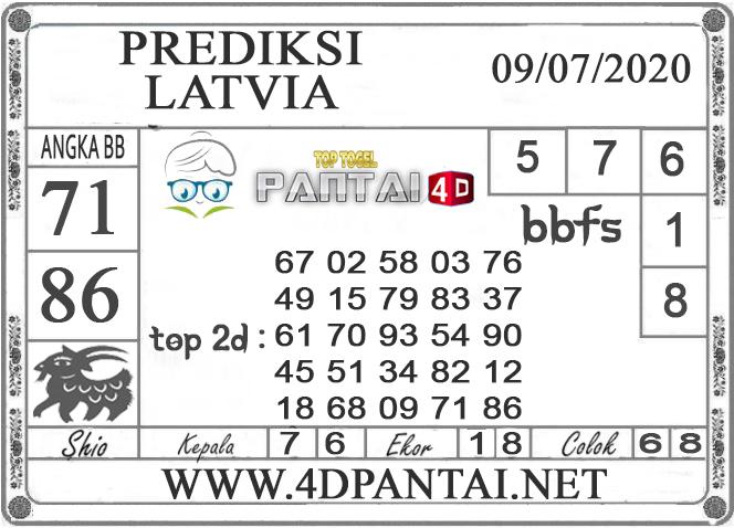 PREDIKSI TOGEL LATVIA PANTAI4D 09 JULI 2020