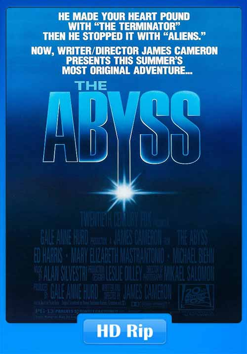The Abyss 1989 720p WEBRip 500MB x264 Poster