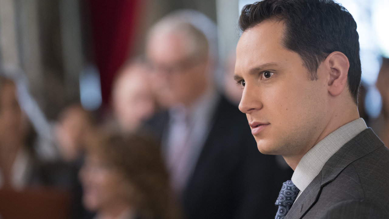 Fotografía de Matt McGorry (Asher) en 'How to Get Away with Murder'