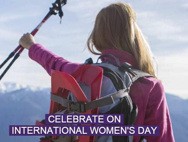 Celebrate International Women's Day March 8