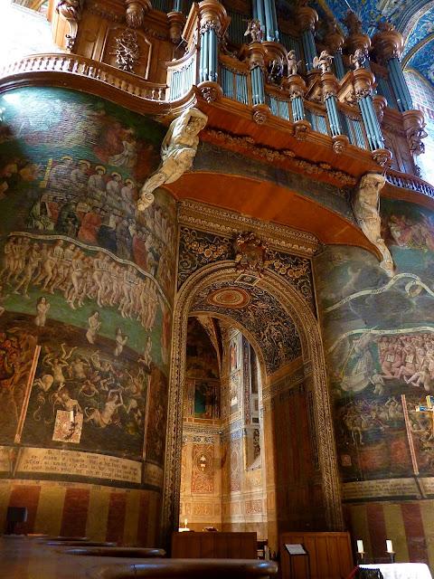 Organo y Juicio Final de la Catedral de Albi